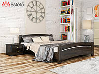 Кровать двуспальная из натурального дерева Венеция 160х200, 106, Щит 2Л4
