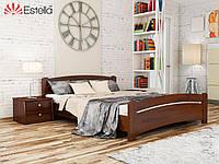 Кровать двуспальная из натурального дерева Венеция 160х200, 108, Щит 2Л4