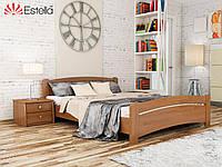 Кровать двуспальная из натурального дерева Венеция 160х200, 105, Щит 2Л2,5