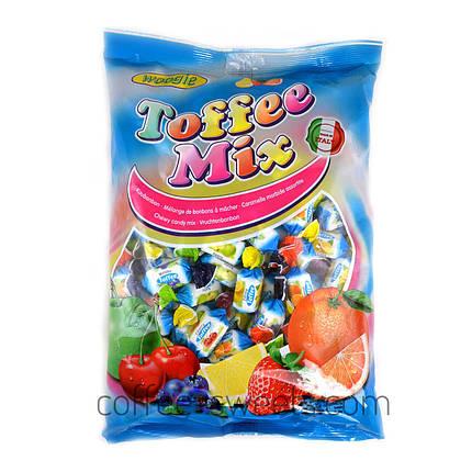 Конфеты жевательные фруктовый микс Woogie Toffee Mix 250g, фото 2