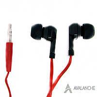 Навушники вакуумні для телефона дротові AVALANCHE MP3-383