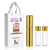 Женские духи Christian 3*15 ml похожи на шанель коко мадмуазель парфюм аромат запах