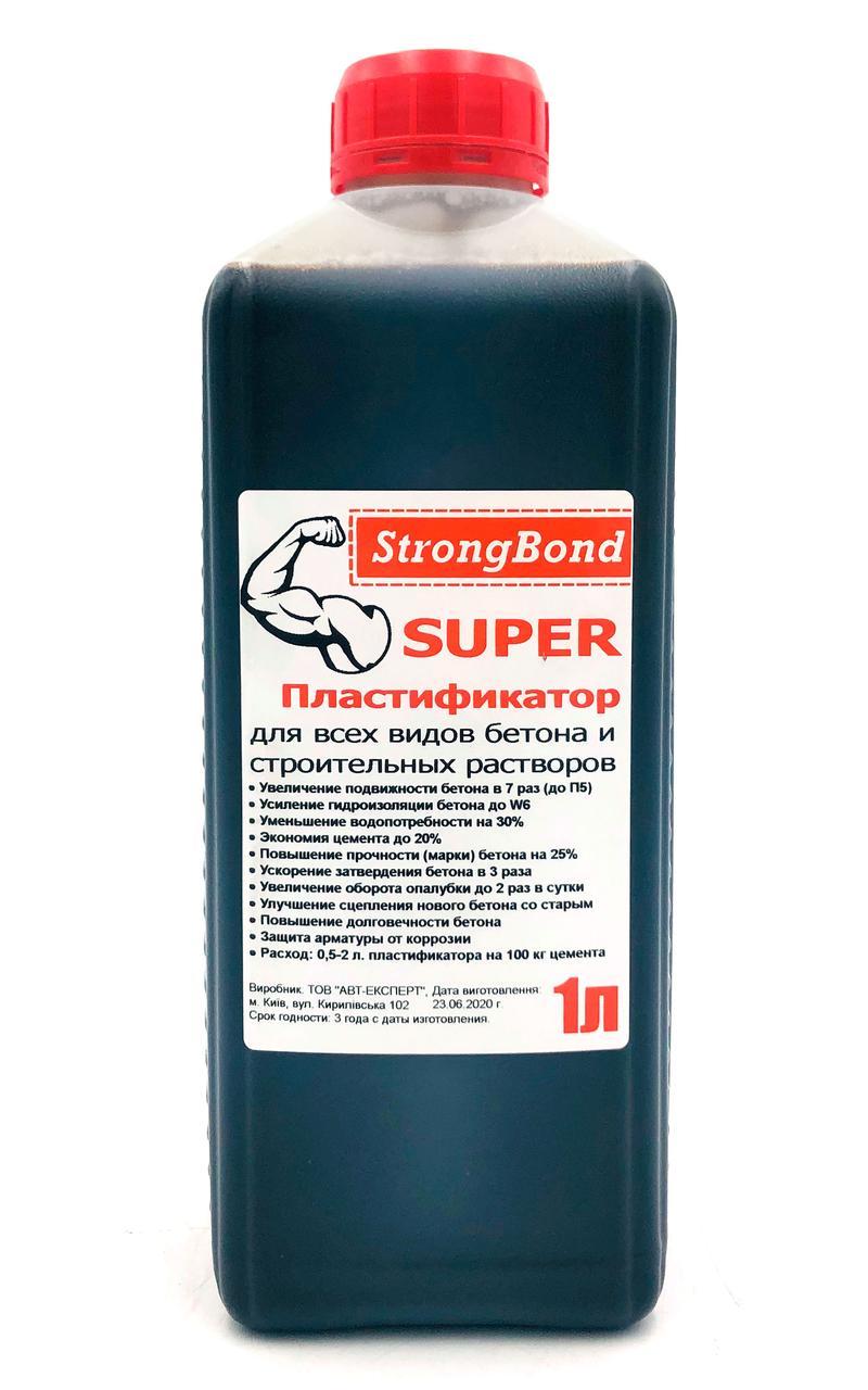 Пластификатор для бетона StrongBond 1 л