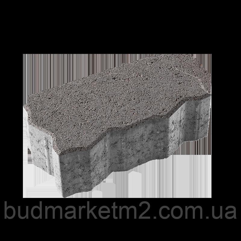 Тротуарная плитка Фалка Ковальская 24-13-12 серый