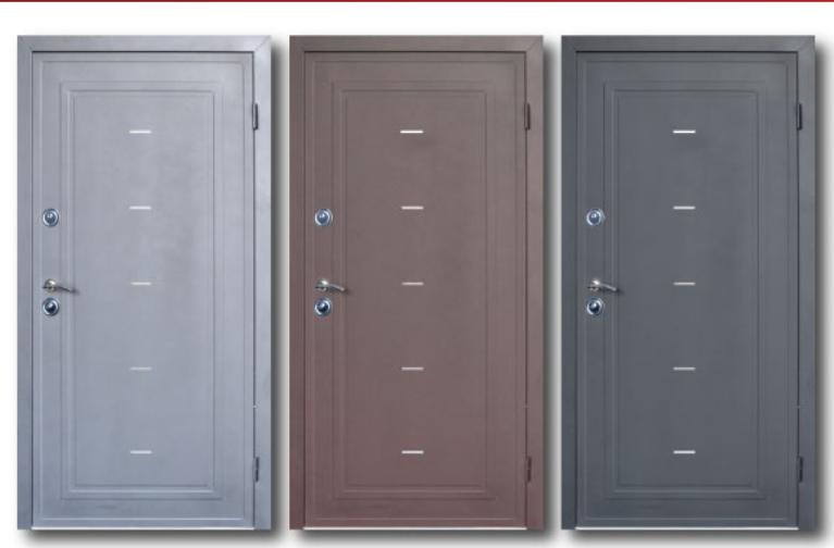 Двери металлические уличные Steelguard Antifrost Torre