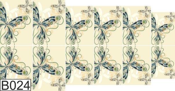Слайдер дизайн для ногтей бабочки