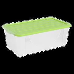 Ящик пластиковий з кришкою Алеана 6л