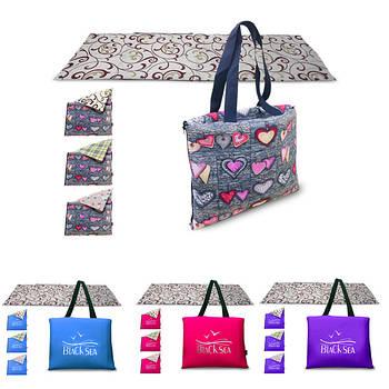 Пляжные сумки-коврики