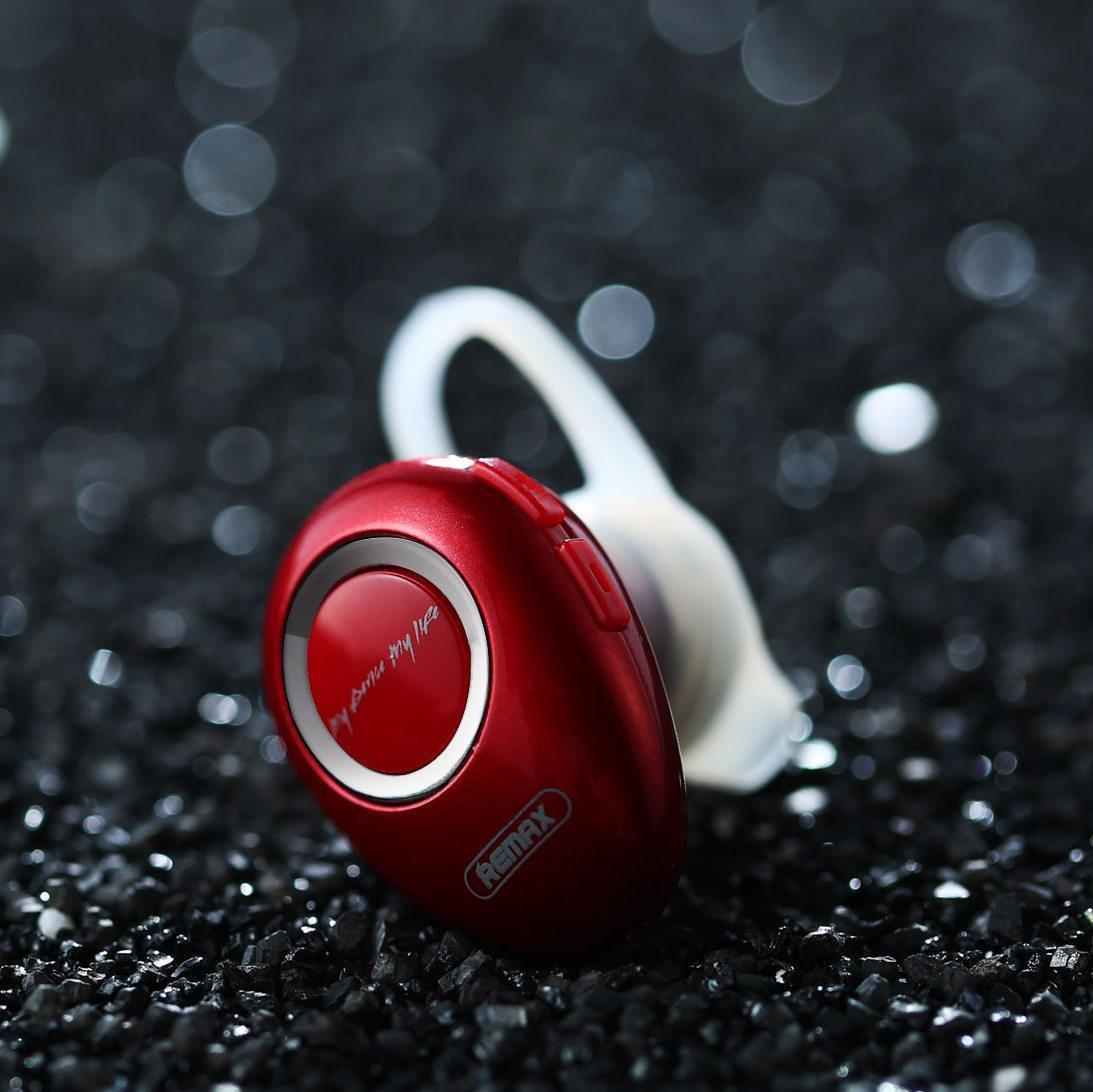 Беспроводная Bluetooth гарнитура Remax RB-T22 red