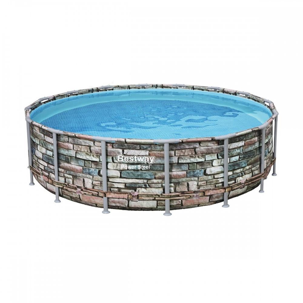 Каркасный бассейн Bestway Loft 56886 (549х132) с картриджным фильтром