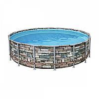 Каркасный бассейн Bestway Loft 56886 (549х132) с картриджным фильтром, фото 1