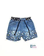 Детские джинсовые шорты для девочки.