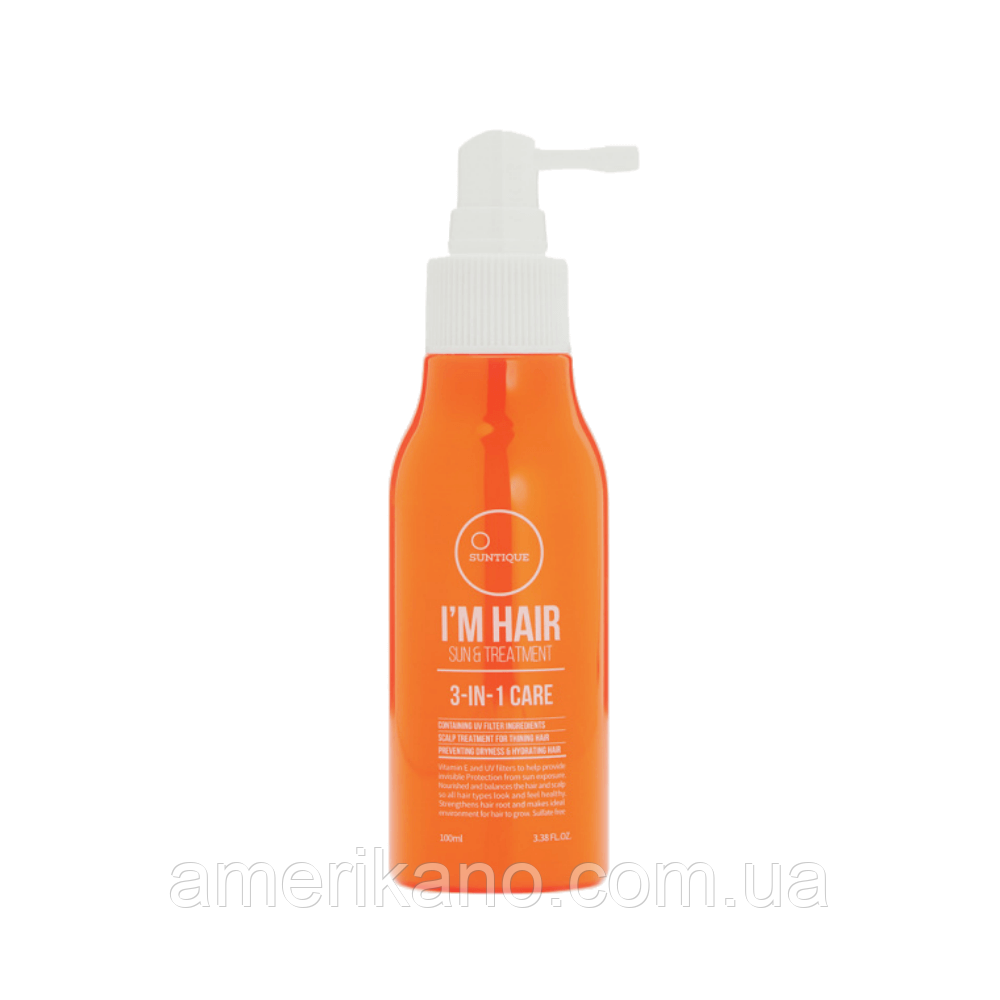 Солнцезащитный спрей для волос SUNTIQUE I'm Hair Sun & Treatment, 100 мл