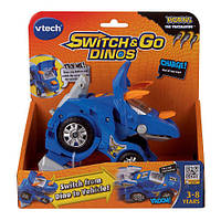 "Робот-трансформер ""Динозавр Трицератопс"" (VTech Switch and Go Dinos - Horns the Triceratops), фото 1"