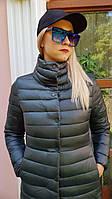 Куртка плащ тренч пальто ветровка весна осень осенняя стёганная короткая длинная до колена
