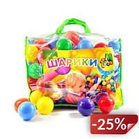 Шарики для сухого бассейна M-toys 100 шт Разноцветный (01160R)