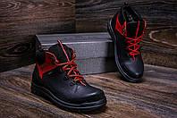 Мужские зимние сапоги, зимние ботинки мужские кожа, фото 1
