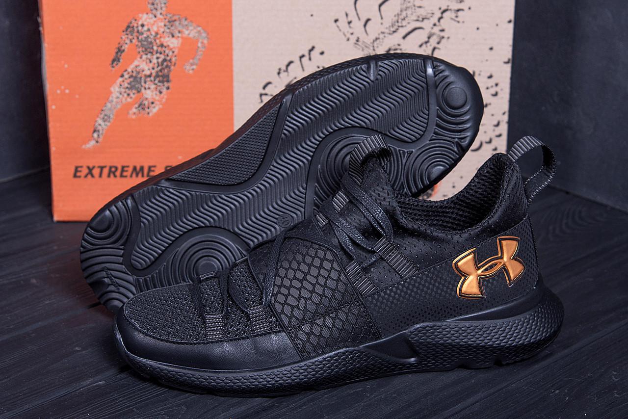 Стильные и модные мужские кроссовки в черном цвете