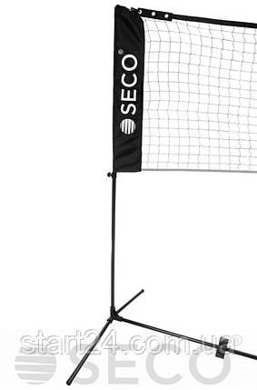 Стойки для футбол-тенниса, большого тенниса, бадминтона SECO 5м с сеткой, фото 2