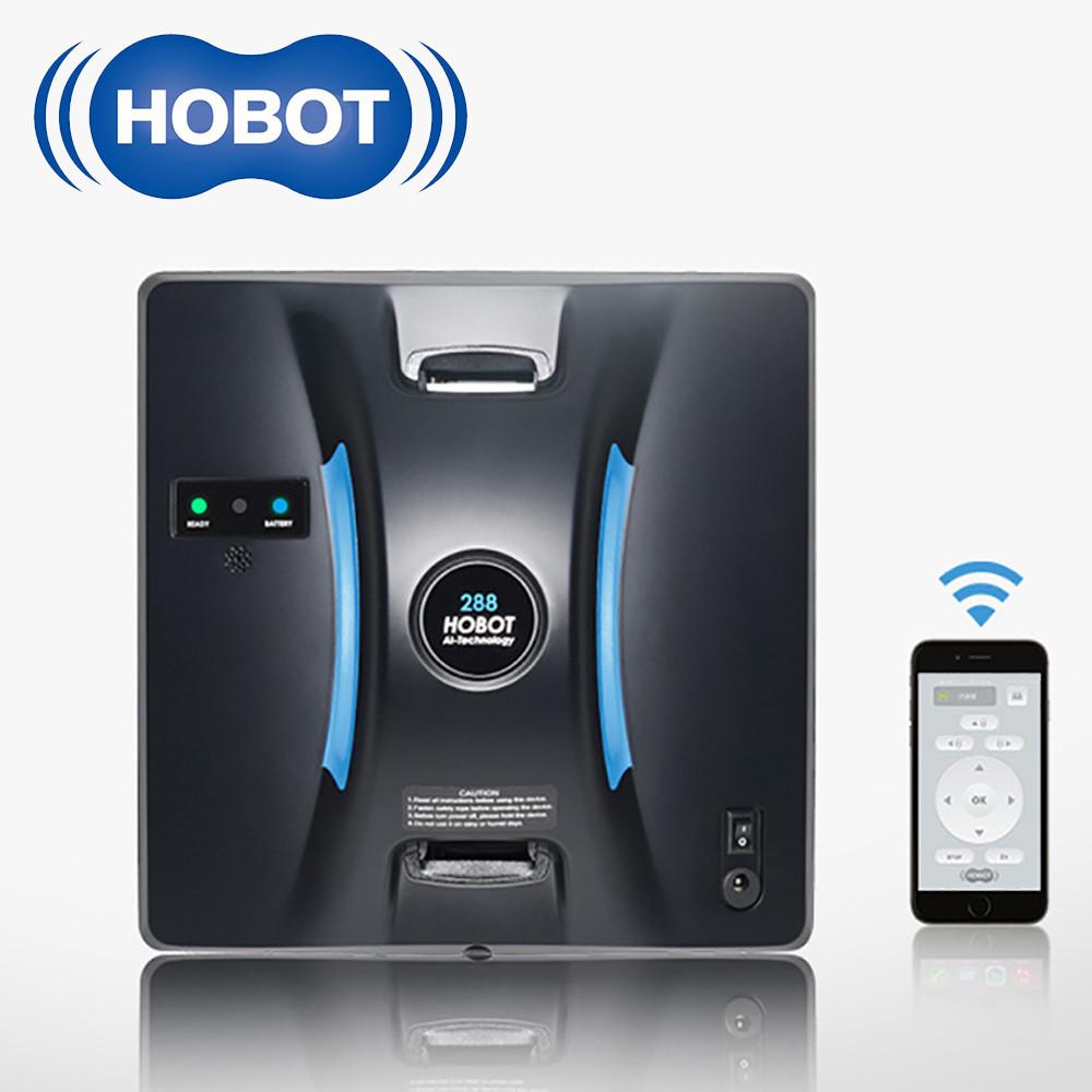 Робот для миття вікон HoBot 288 c Bluetooth-управлінням зі смартфона (Тайвань)
