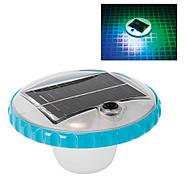 Подсветка бассейна на солнечной батарее