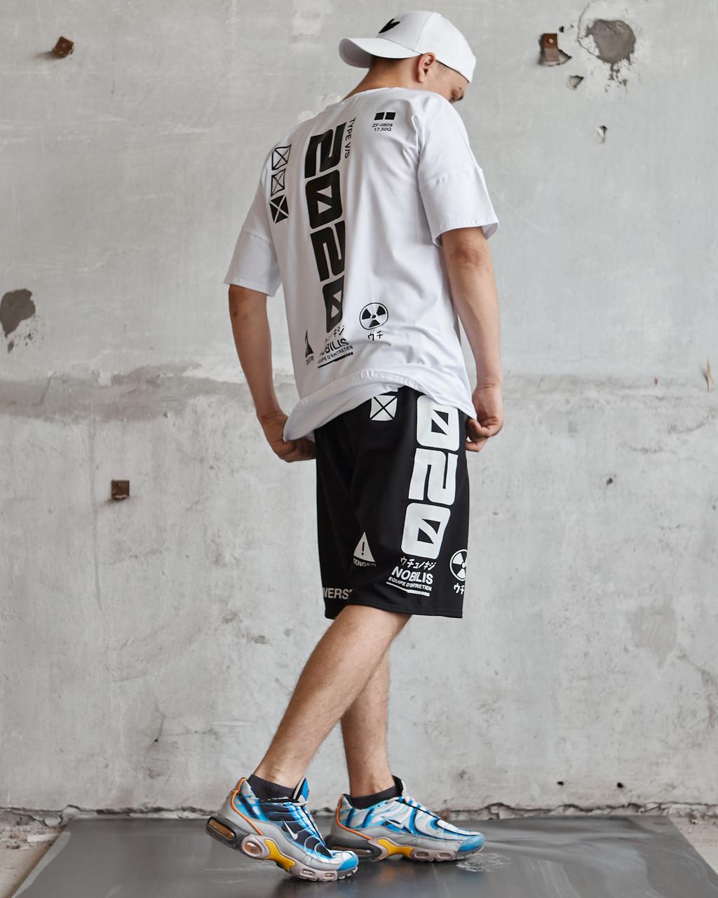 Комплект в стилі 2020 шорти і футболка