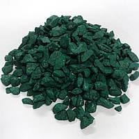 Цветной декоративный щебень BVC Зеленый (0005.20)