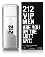 Carolina Herrera 212 VIP Men Туалетная вода EDT 100ml (Каролина Херера Эрерра 212 Вип Мужской) Парфюм Духи EDP, фото 3