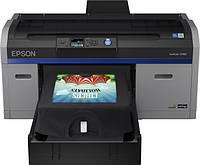 #184587 - Принтер для прямой печати на ткани Epson SureColor SC-F2100, Gray, 5 цветов (C11CF82301A0)