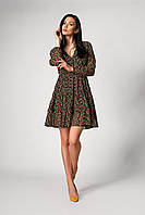 Платье SL-FASHION 1250.1 48 Черный (SLF-1250.1-4), фото 1