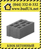 Блок бетонный несьемной опалубки М-100 (51х40х23,5)