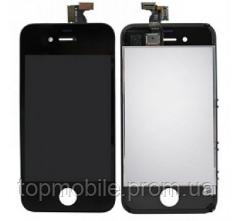Модуль iPhone 4S  черный, копия ( дисплей, сенсор, стекло, экран)