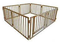 Детский манеж складной 72 см 8 секций с воротами Сосна (МД8)