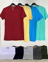 Однотонные футболки мужские турецкие 9015