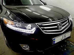 Установка ДХО Honda Accord