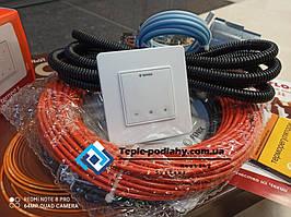 Тонкий кабельFenix ADSV18830 ( 4.6 м2) з сенсорним терморегулятором Terneo S (Повний комплект)