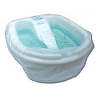 Чохол для педикюрної ванночки 80х80 см (50 шт/пач) з поліетилену Колір: прозорий