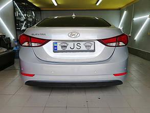 Установка парктроника Hyundai Elantra