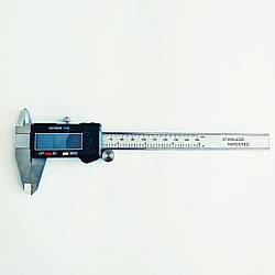 Штангенциркуль электронный KM-DSK-150 0-150/001 мм; ±0.02 мм с бегунком (mdr_7020)