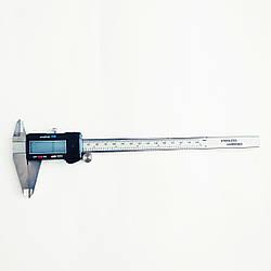Штангенциркуль электронный KM-DSK-200 0-200/001 мм; ±0.02 мм с бегунком (mdr_7021)