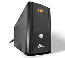 ДБЖ Frime Guard 650VA FGS650VAPU, Lin.int., AVR, 2 х євро, USB, пластик