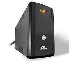 ДБЖ Frime Guard 850VA FGS850VAP, Lin.int., AVR, 2 х євро, пластик