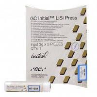 INITIAL LiSi Press HT-E60 (Инишиал ЛиСи) Пресс керамика упаковка: 5шт (1 таблетка 3г) GC