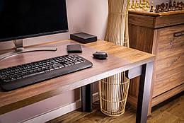 Защитная прозрачная подкладка на стол Poli-Trader антибликовый 50*70 см