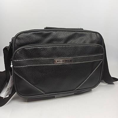 Мужская кожаная сумка через плечо 061