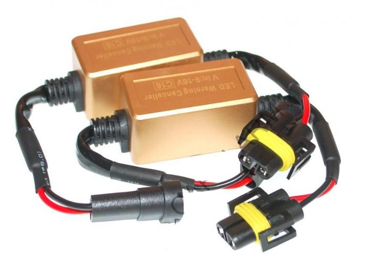 Обманки Baxster CAN-BUS H8-9-11 С16 gold (2 шт)
