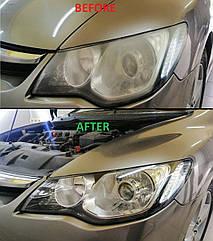 Полировка фар Honda Civic