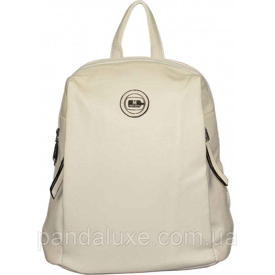 Рюкзак женский красивый средний кожаный стильный 32х27х13см
