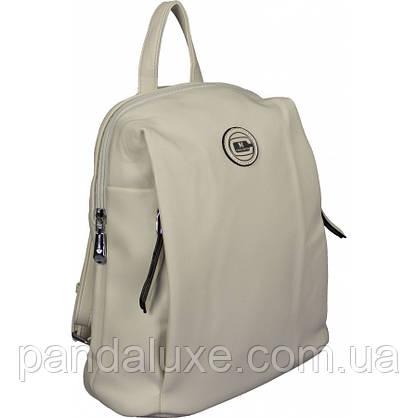 Рюкзак женский красивый средний кожаный стильный 32х27х13см, фото 3