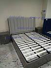 Ліжко Пасадена 1,6 м'яке узголів'я екокожа з підйомним механізмом від Frisco, фото 5